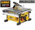 Dewalt DCS7485N 54V XR FLEXVOLT Brushless Table Saw - Bare Unit Only £499.95 Dewalt Dcs7485n 54v Xr Flexvolt Table Saw - Bare Unit Only