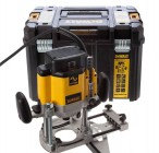 DEWALT DW625EKT 240V  2,000W 1/4 & 1/2 INCH ROUTER WITH CASE £249.95