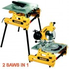 DEWALT DW743N 240VOLT FLIP OVER SAW �629.95