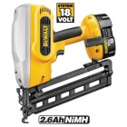 DEWALT DC618KB 18VOLT CORDLESS NAIL GUN KIT WITH 2 x 2.6AMP Ni-MH BATTERIES & 30MIN CHARGER �379.95