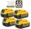 Dewalt DCB182 18V 4 x 4.0Ah XR-Lion Battery (PK4) £199.95 Dewalt Dcd182 18v 4.0ah Xr-lion Battery