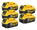 Dewalt DCB184 18V 5 x 5.0Ah XR-Lion Battery (Pack of 5) £289.95 Dewalt Dcb184 18v 5 X 5.0ah Xr-lion Battery (pack Of 5)