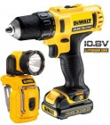 DEWALT DCD710S2-GB 10.8V SUBCOMPACT DRILL/DRIVER WITH 2 x 1.5amp LITHIUM BATTERIES & LED TORCH! �119.95