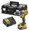 DEWALT DCD796P1 XR Brushless Hammer Drill 18 Volt 1 x 5.0Ah Li-Ion £164.95 Dewalt Dcd796p1 Xr Brushless Hammer Drill 18 Volt 1 X 5.0ah Li-ion