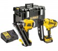 Dewalt DCK264P2 TWIN KIT - 18V XR 1st Fix Framing Nailer, 2nd Fix Nailer, 2 x 5.0Ah Batteries, Charger & DS400 Kit Box £649.95 Dewalt Dck264p2 Twin Kit - 18v Xr 1st Fix Framing Nailer, 2nd Fix Nailer, 2 X 5.0ah Batteries, Charger & Ds400 Kit Box