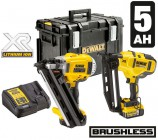 Dewalt DCK264P2 TWIN KIT - 18V XR 1st Fix Framing Nailer, 2nd Fix Nailer, 2 x 5.0Ah Batteries, Charger & DS400 Kit Box �679.95