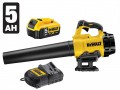 DEWALT DCM562P1 XR Brushless Outdoor Blower 18 Volt 1 x 5.0Ah & Charger £199.95 Dewalt Dcm562p1 Xr brushless Outdoor Blower 18 Volt 1 X 5.0ah