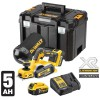 Dewalt DCP580P2 18V XR Cordless Brushless Planer Kit - 2 x 5.0Ah Li-ion, Charger, Case & Dust Bag £349.95 Dewalt Dcp580p2 18v Xr Cordless Brushless Planer - 2 X 5.0ah Li-ion, Charger, Case & Dust Bag