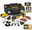 DEWALT DCS355D2 18V CORDLESS MULTI-TOOL WITH 2 x 2.0Ah BATTERIES, CASE & 35 ACCESSORIES £239.95 Dewalt Dcs355d2 18v Cordless Multi-tool With 2 X 2.0ah Batteries, Case & 35 Accessories