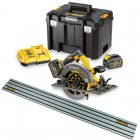 Dewalt DCS576T2 54V XR FLEXVOLT Circular Saw (track) - 2 x Batteries And Fast Charger - With DWS5022 Rail £499.95