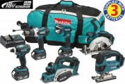 MAKITA DLX6012M 6PC 18V 3 x 4.0Ah COMBO KIT �769.95