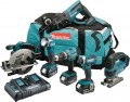 Makita DLX6068PT 18V LXT 6 Piece Kit  With 3 x 5.0Ah Li-Ion Batteries, Dual Port Charger £659.95 Makita Dlx6068pt 18v Lxt 6 Piece Kit  With 3 X 5.0ah Li-ion Batteries, Dual Port Charger & Bag