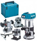 Makita DRT50ZJX3 18V LXT Brushless Cordless Compact Router Kit £309.95