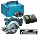 MAKITA DSS610RMJ 18V CIRCULAR SAW (2 x 4.0Ah Li-ION) BATTERIES & MAKPAC CASE �359.95