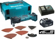 MAKITA DTM51 18V MULTI-TOOL QUICK CHANGE WITH CHARGER & 1 x 4.0Ah BATTERY MAKPAC CASE & ACCESSORY KIT �299.95
