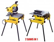 DEWALT DW743N 240VOLT FLIP OVER SAW �699.00