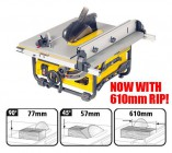 DEWALT DW745 240VOLT PORTABLE TABLE SAW �399.95