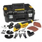 DEWALT DWE315KT-GB 240V 300W OSCILLATING MULTI TOOL, QUICK CHANGE WITH TSTAK CASE & ACCESSORIES �129.95