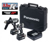 PANASONIC EYC208LR2G 18V COMBI DRILL & 18V IMPACT DRIVER TWINPACK WITH 2 x 3.3AMP LI-iON BATTERIES, CHARGER & CASE �349.95
