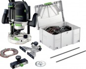 "FESTOOL 574395 240V OF2200EB-SET 1/2"" ROUTER WITH T-LOC SYSTAINER CASE PLUS ACCESSORY SET IN T-LOC CASE �829.00"