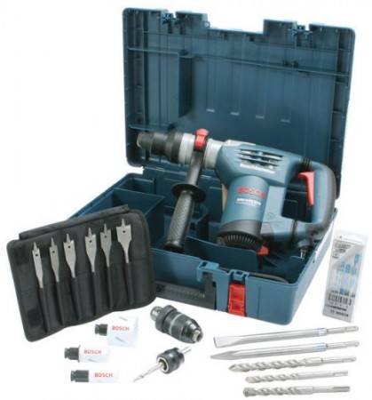 BOSCH GBH4-32DFR 240V 900W SDS+ MULTIDRILL COMBI HAMMER DRILL & ACCESSORY KIT