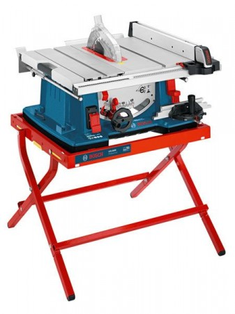 BOSCH GTS10XC 110V PORTABLE TABLE SAW SUPPLIED WITH GTA6000 STAND