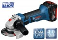 BOSCH GWS18VLi 18V CORDLESS 4.5INCH MINI GRINDER WITH 2 x 4.0Ah LI-iON BATTERIES & L-BOXX £319.95 Bosch Gws18vli 18v Cordless 4.5inch Mini Grinder With 2 X 4.0ah Li-ion Batteries & L-boxx