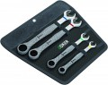 Wera Joker Combi Ratchet Spanner Set of 4 Supplied With Storage Roll £66.99 