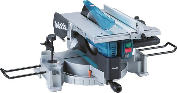 makita lh1201fl 240v 305mm table top mitre saw cw job light and laser line