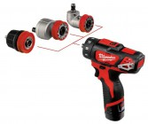 Milwaukee M12 4-In-1 Drill Driver Kit (2 X 2.0ah Li-ion batteries, charger, 10mm chuck & extra heads) �179.95