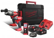 Milwaukee M18FPP3G-502X - 18V Brushless Fuel Twinpack With Distance Meter And Tick Bluetooth Tracker £479.95