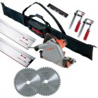 MAFELL MT55CC 240V PLUNGE SAW WITH 2 x 1.6M GUIDE RAILS  + CONNECTOR + 2 x  CLAMPS & RAIL BAG & EXTRA BLADE WORTH �64.95 �599.95