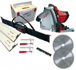 MAFELL MT55CC 240V PLUNGE SAW WITH 2 x 1.6M GUIDE RAILS  + CONNECTOR + 2 x  CLAMPS & RAIL BAG & EXTRA BLADE WORTH £65.95 £599.95