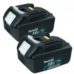 MAKITA 194204-5 2 x 18VOLT 3.0Ah LITHIUM-ION BATTERY (PACK OF 2) £139.95