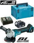 MAKITA DGA454ZJ1 18V LXT Li-iON 115mm BRUSHLESS CORDLESS GRINDER WITH 1 x 5.0Ah BATTERY, CHARGER & MAKPAC CASE �259.00
