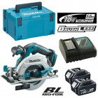 Makita DHS680 18v Brushless Circular Saw 165mm With 2 x 5.0Ah Batteries, Charger & MakPac Case �399.95