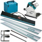 Makita DSP600ZJ 18V LXT 2 x 18v (36V) Brushless Cordless Plunge Saw - Body Only With MakPac Case & Rail Kit £534.95