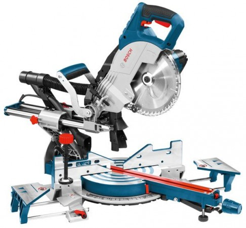BOSCH GCM8SJL 240V 1600W 216MM SLIDING MITRE SAW WITH LASER