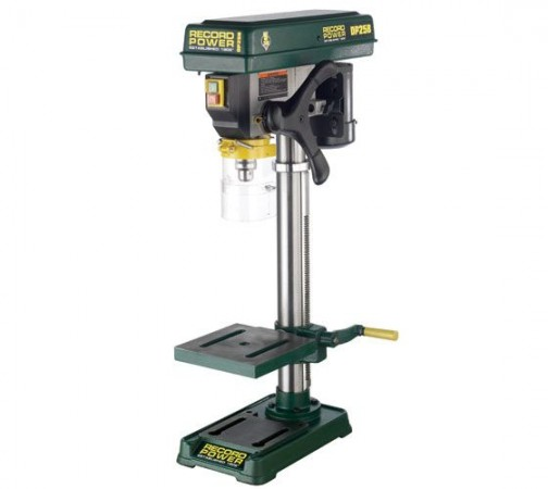 "Record Power DP25B Bench Drill with 22"" column and 1/2"" chuck"