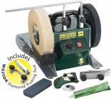 "RECORD POWER WG250 10"" WETSTONE GRINDER / SHARPENER + DIAMOND TRUING JIG & FREE DELIVERY! �279.99"