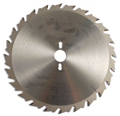 SCHEPPACH 53000706 SAW BLADE TS2500Ci 270MM  X 24TH