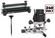 Trend T5EB 240V 1/4in Variable Speed Router 1000W + 300mm Dovetail Jig + Fine Height Adjuster £268.00