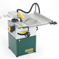 "Record Power TS250C 10"" Table Saw (Cast Iron Table) On Cabinet Base & Right Hand Extension £799.00"