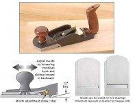 VERITAS P3601 BEVEL-UP SMOOTHER PLANE was £249.95 £199.95