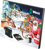 Wera 2017 Tool Advent Calender £44.99 The Mini Screwdriving Workshop For Every Santa Claus: 24 Doors Conceal 34 Tool Surprises To Enable Simpler Working Even In Confined Working Situations.