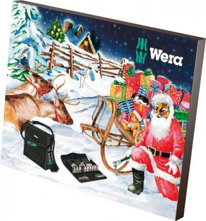 Wera 2017 Tool Advent Calender
