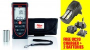 LEICA DISTO X310 120M LASER DISTANCE METER IP65 RATED + FREE UC20 CHARGER & Batteries £159.95