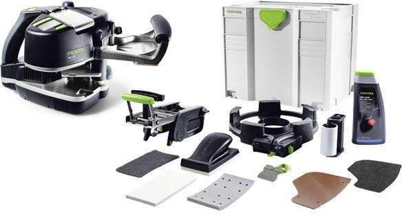 Festool 574614 KA 65 Set GB 240V Conturo Edge Bander with Edge Trimming Set