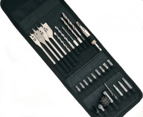 D&M  QUICK CHANGE HEX DRILLSET 27 PIECE IN STORAGE POUCH
