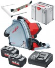Mafell MT 55 18M BL 18V Brushless Cordless Plunge Saw With 2 x 5.5Ah Batteries, Charger in T-MAX Case £819.95